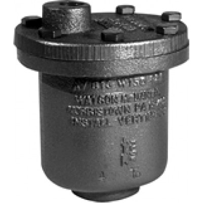 "THERMOSTATIC AIR VENT 1/2"" (NPT) AIR ELIMINATOR CAST IRON"