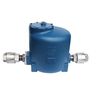 "Pressure Motive Pump  1"" X 1"" (NPT) PMPT PUMP & TRAP COMBINATION W/ INT STM TRAP DUCTILE IRN PMP BDY  (0-150 PSI)"